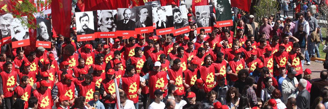 Demonstrace turecké komunistické strany