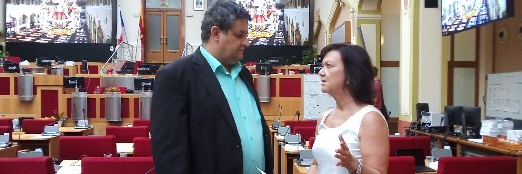 Marta Semelová s Petrem Šimůnkem