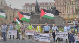 Protest Palestinců proti anexi Palestiny