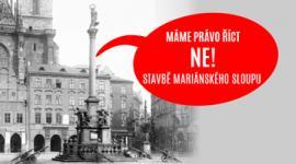 Mariánský sloup, staroměstské náměstí, ksčm
